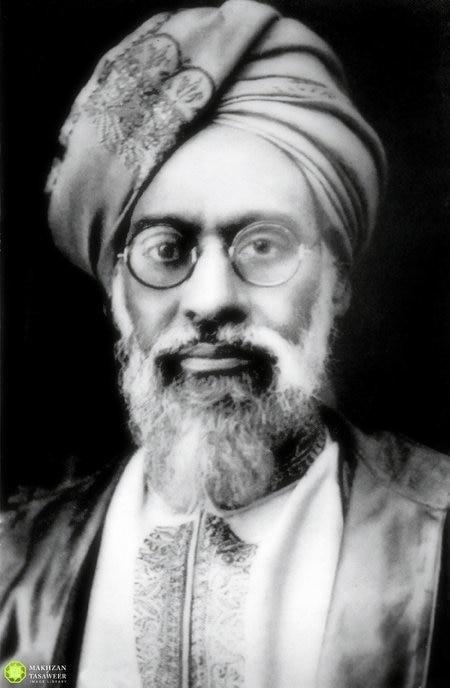Hazrat Mufti Muhammad Sadiq Sahib Portrait