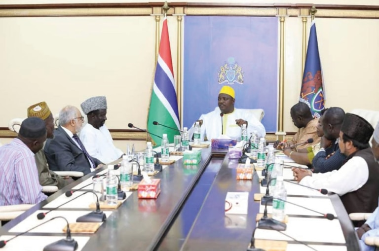 Gambia's President Receives IAAAE Chairman at State House