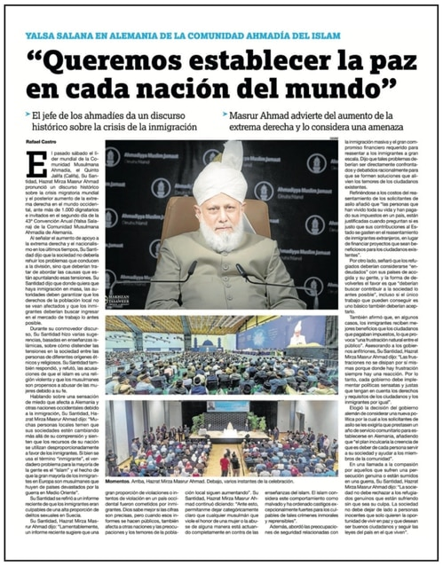 Positive Impressions of Islam in Spain