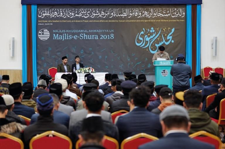 National Majlis Khuddam-ul-Ahmadiyya UK Shura 2018
