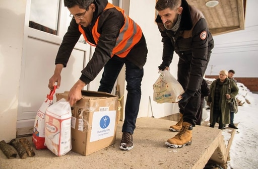 Humanity First Kosovo Donates 100 Food Packages to Families in Need