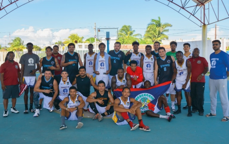 Ahmadi Teams in International Basketball Tournament