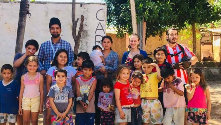 Hope and Joy for Paraguayans in Need