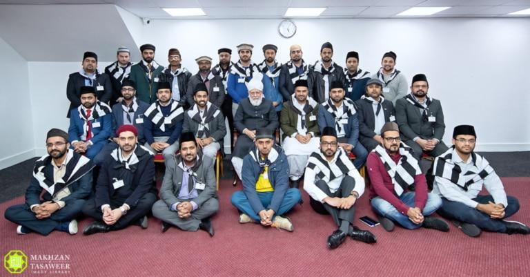 Qaids of Majlis Khuddam-ul-Ahmadiyya UK Meet Hazrat Khalifatul Masih a.a.