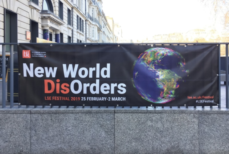 New World Disorders Festival at the London School of Economics
