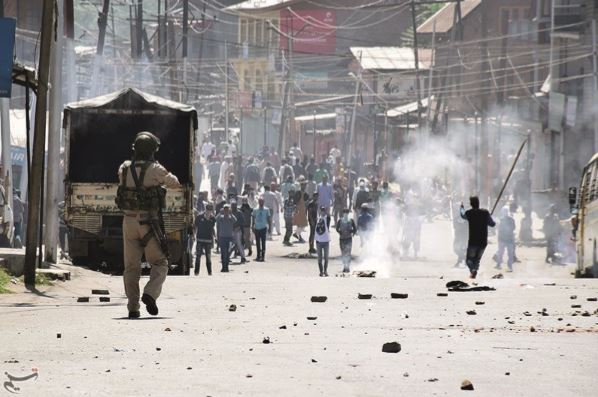 The burning issue of Kashmir