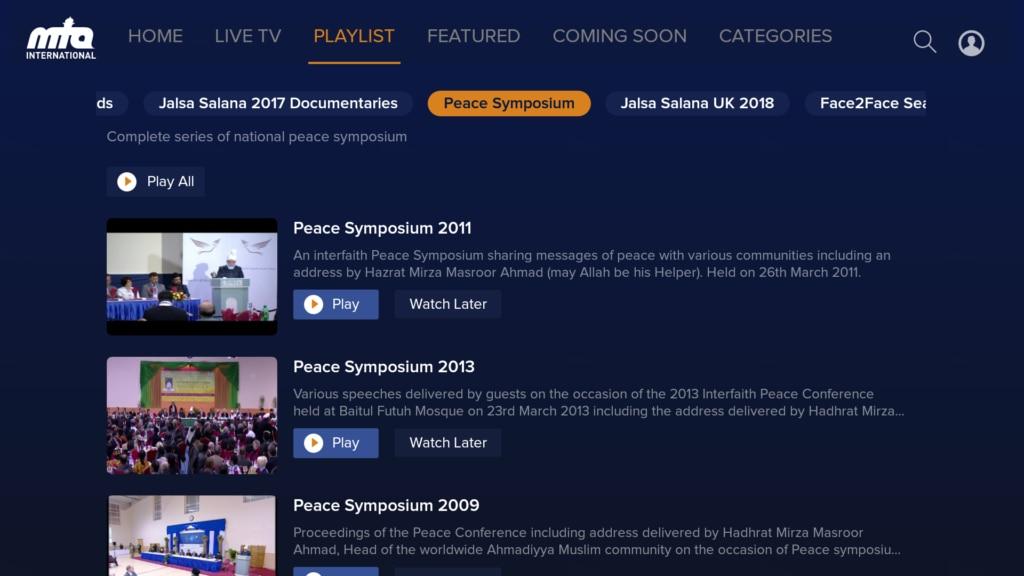 Introducing the new MTA smart TV app - Al Hakam
