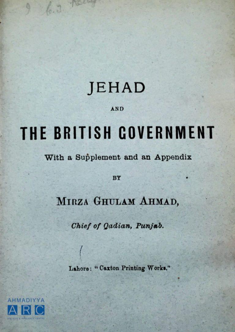 Rage against the Raj: Revisiting Jihad in British India
