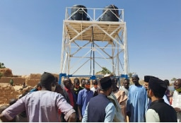 Ahmadi engineers assist clean water project by Niger government