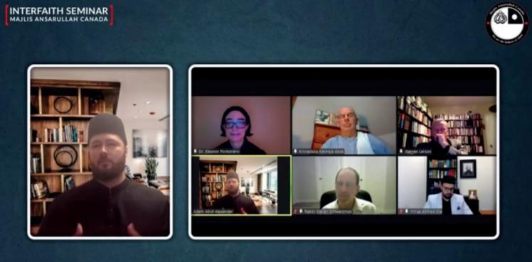 Virtual interfaith seminar in Canada