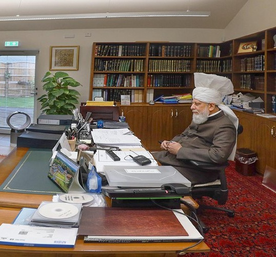 """What is truly of utmost importance is prayer"": UK missionaries meet Hazrat Khalifatul Masih virtually"