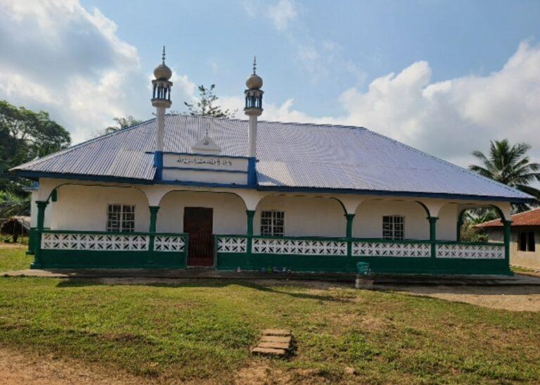 Opening of new mosque in Sierra Leone's Daru region