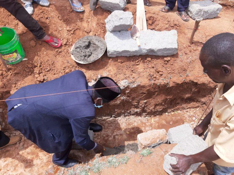Kenyan Ahmadis lay new mosque's foundation in Eldoro Jamaat