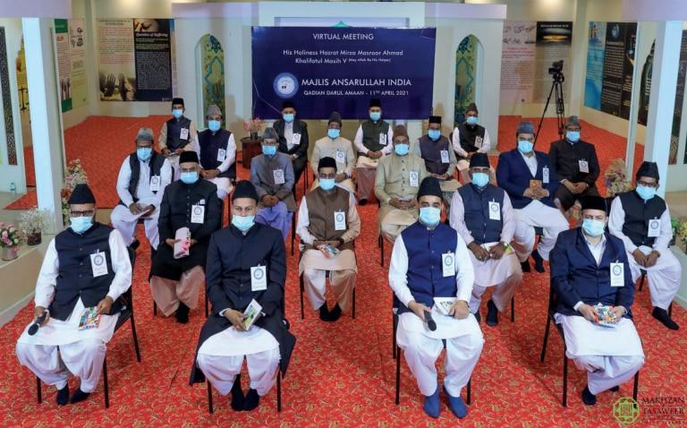 Explore new avenues to expand tabligh: Amila of Majlis Ansarullah India receives guidance from Hazrat Khalifatul Masih