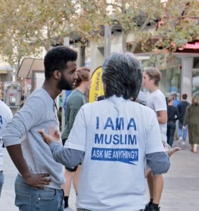Tabligh, preaching, street preaching