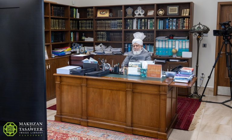 Shun any inferiority complexes to do with faith, appearance and familial background: UK Nasirat get guidance from Huzoor