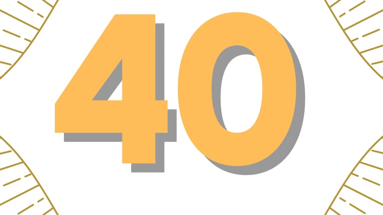 What is the significance of the number 40 in Islam?
