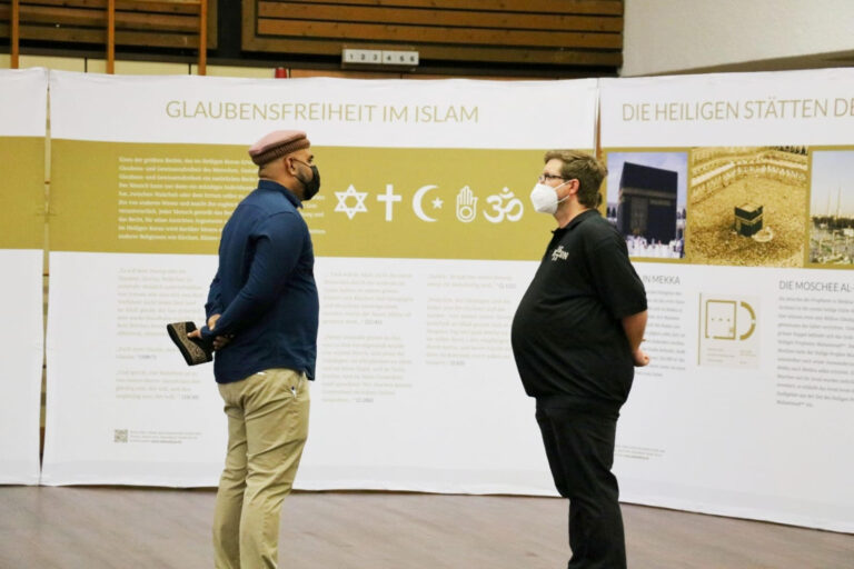 What can Muslims do to dispel the fears of non-muslims and reassure them regarding Islam?