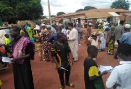 Tabligh day in Tanda, Ivory Coast