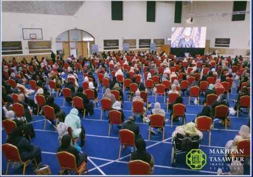 Remember why you have this freedom and never forget who you are: Huzoor delivers concluding address at national Lajna UK Ijtema 2021