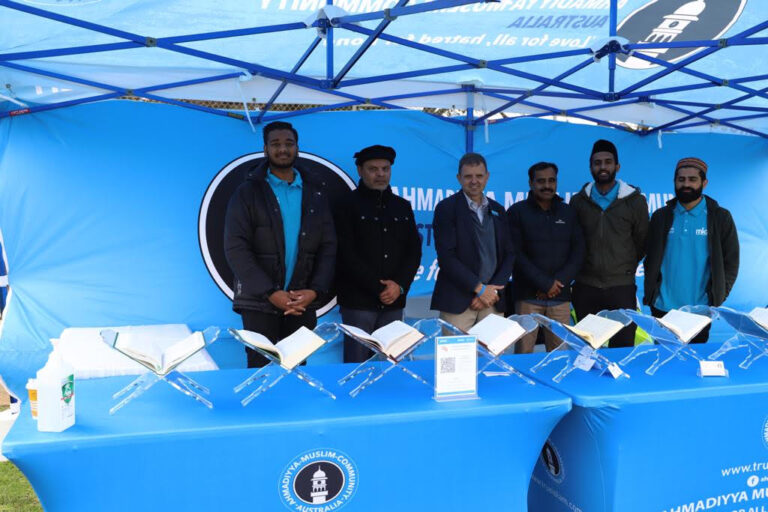 Holy Quran exhibitions in Kingston SE Show, Australia