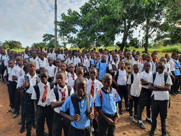 Jalsa Seerat-un-Nabi at Tahir Ahmadiyya Secondary School, Sierra Leone