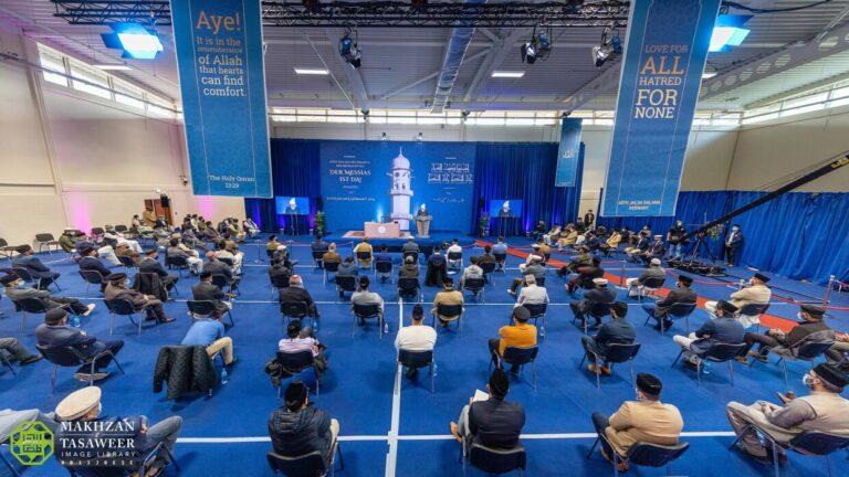 Grow the root of taqwa in your heart: Hazrat Khalifatul Masih addresses Jalsa Salana Germany 2021